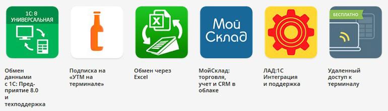 Приложения для онлайн-касс Эвотор