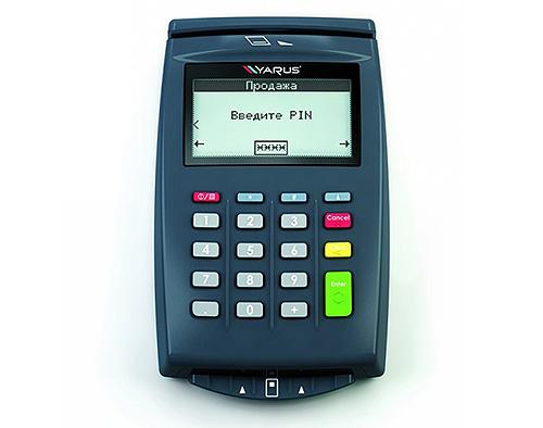 ПИН-пад для приема банковских карт Ярус Р2100