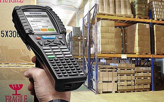 Переносной сканер штрих-кодов для склада