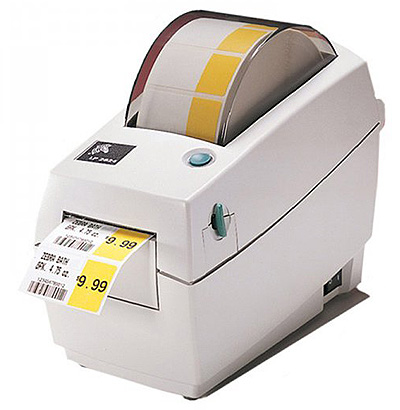 принтер Зебра LP 2824 для печати штрих-кодов