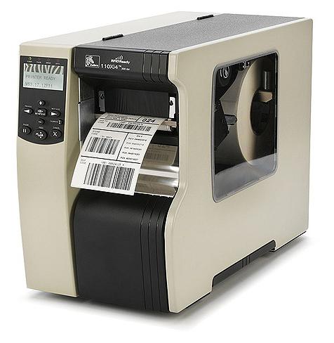 промышленный принтер этикеток Зебра 110XI4