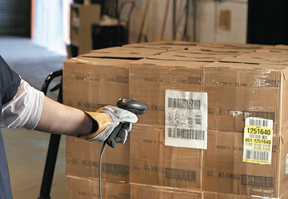 сканер штрих-кода на складе