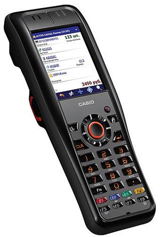Ударопрочный терминал сбора данных Casio DT-X200-10E