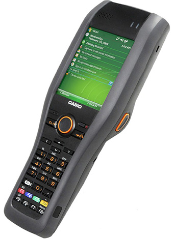 Терминал сбора данных Casio DT-X30 с микрофоном и камерой