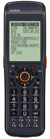 Однозадачный терминал сбора данных Casio DT-970