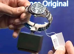 РФИД-метка в виде этикетки к часам
