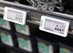 различные производители электронных ценников