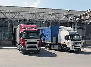 погрузка-разгузка транспортных средств на складе