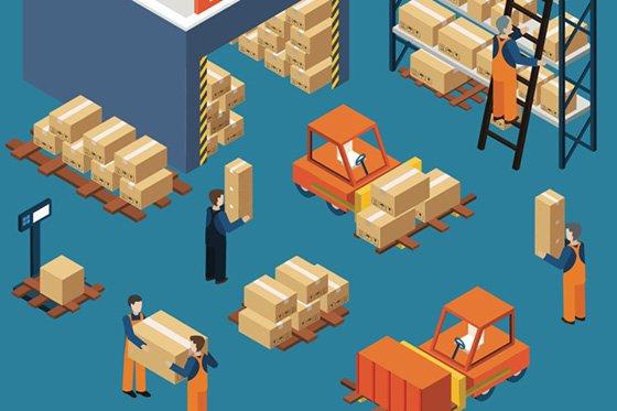оборудование для автоматизации склада