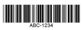 Штих-код по стандарту Code-39