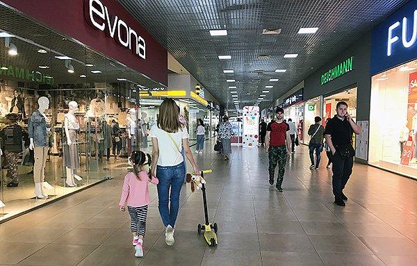 меры пожарной безопасности в крупном торговом центре ТРЦ
