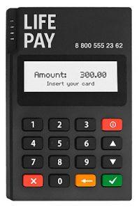 мобильный терминал QPOS Mini для приема платеже по картам