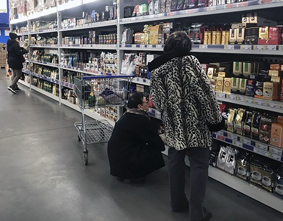 правильная выкладка товаров в магазине заинтересует покупателей