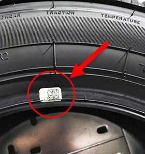 код маркировки на шине в районе обода