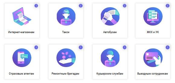 сферы применения облачной онлайн-кассы от сервиса Е-ком касса