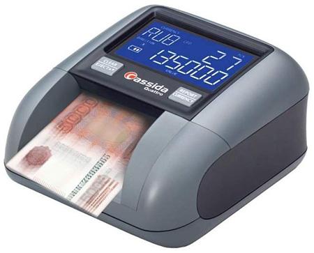машинка для проверки денег на подлинность Cassida Quattro S