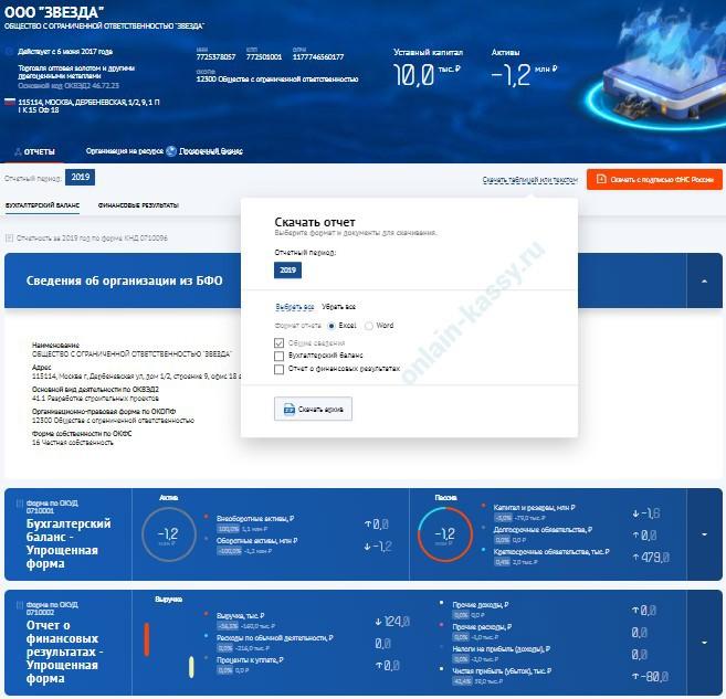 проверка юр.лица по ИНН на сайте налоговой в ГИР БО